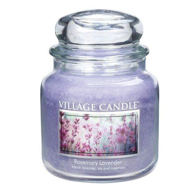 Bougies parfumées Village Candle en bocal 16 oz