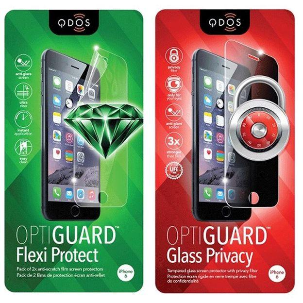 Film protecteur iPhone 6 & 6 Plus QDOS Optiguard