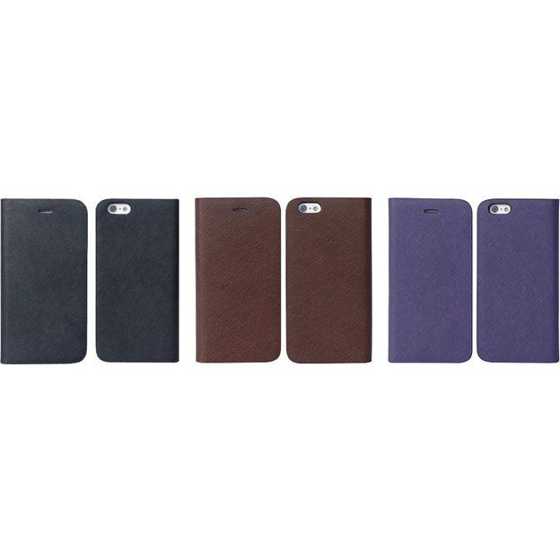 Saffiano Leder-Schutzhülle für iPhone 6 & iPhone 6 PLUS