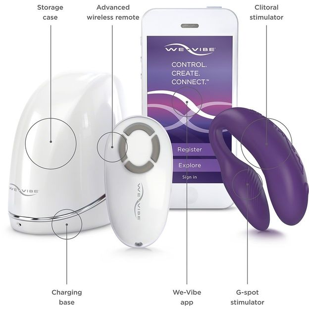 We-Vibe 4 plus pour Couple