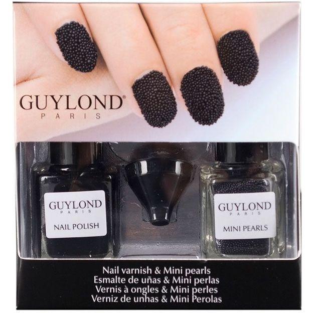 Set vernis à ongles tendance et mini-perles caviar