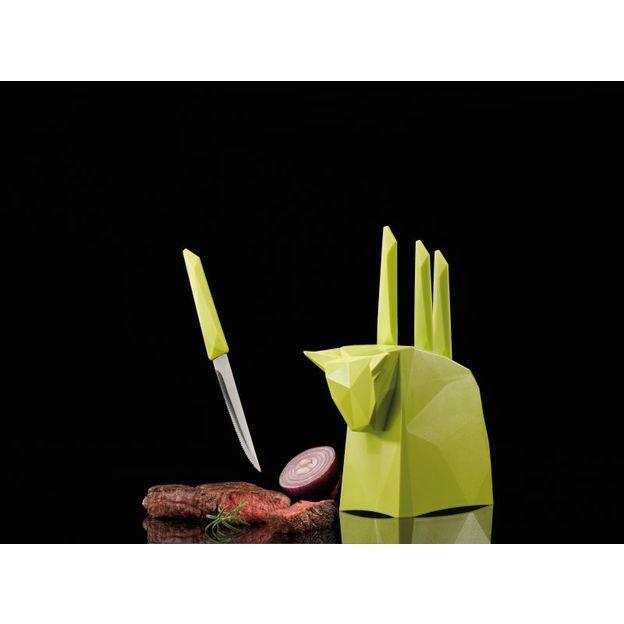 Messerblock mit Steakmessern Pablo von Koziol