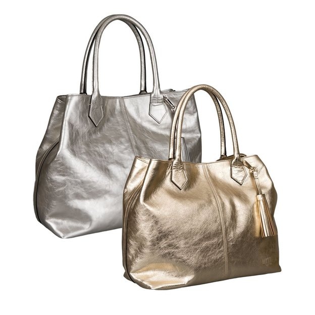 0714 Shopper Kirsten Metallic