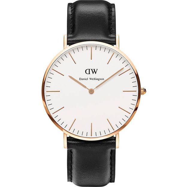 Daniel Wellington Montre Homme 40 mm rose or