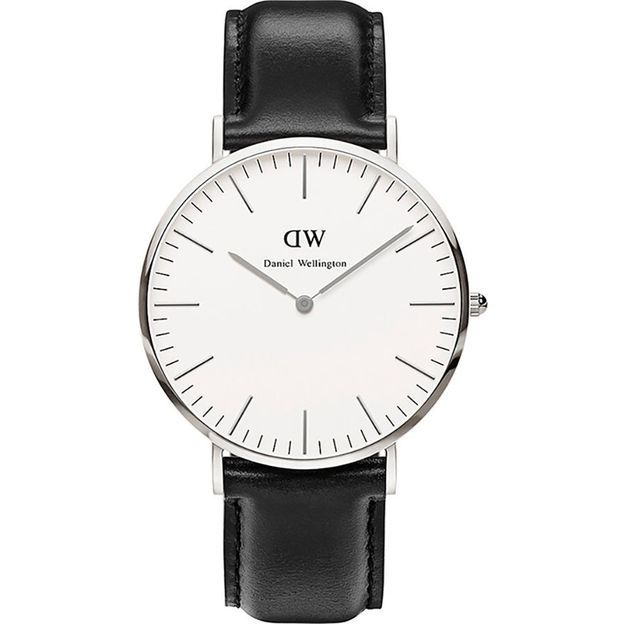 Daniel Wellington Herrenuhr 40mm Silver