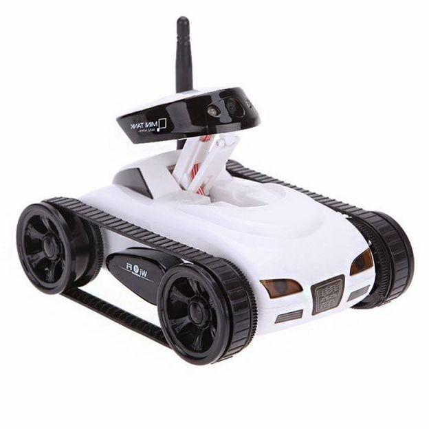 Ferngesteuerter iPhone Panzer Mini I-Spy mit Kamera