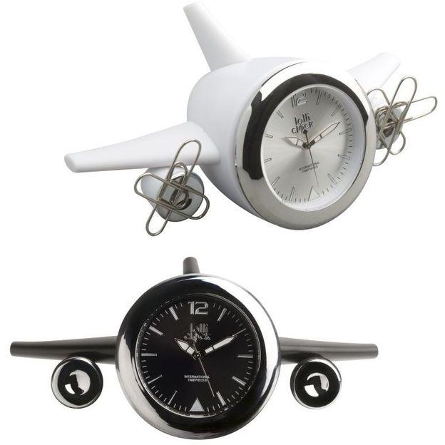 Lolliclock Plane 2 in 1 Magnet und Uhr