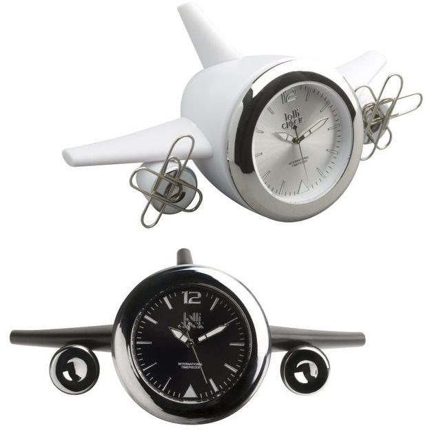 Lolliclock Plane 2 in 1 Uhr