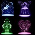 Aloka Sleepy Lights LED Nachtlichter