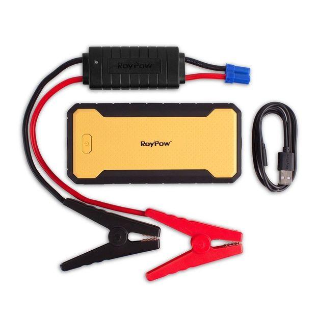 Mobiler Powerbank mit USB Schnittstelle und Kompass