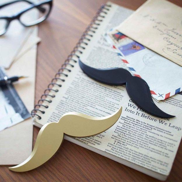 Brieföffner Moustache