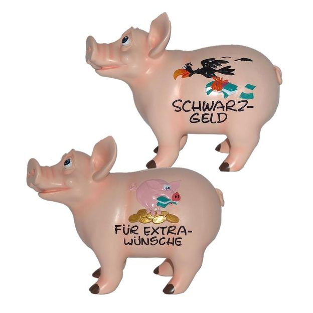 Sparschwein sprechend