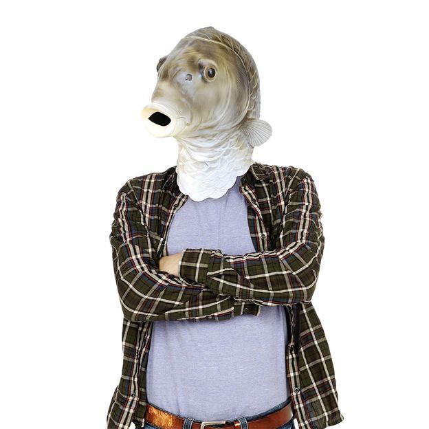 Die verrückten Tiermasken aus Latex