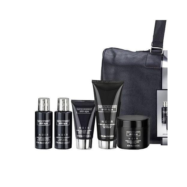 sac de weekend avec produits spa pour homme baylis harding. Black Bedroom Furniture Sets. Home Design Ideas