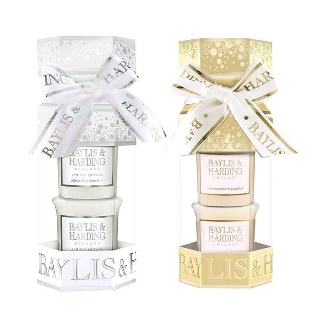 Bougies parfumées de Baylis & Harding set cadeau