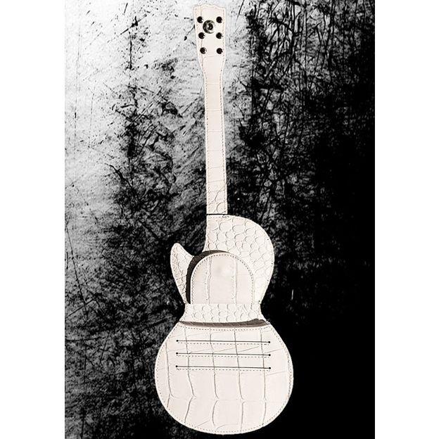 Porte-monnaie en forme de guitare électrique