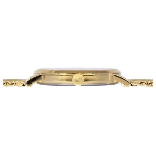 Lars Larsen Armbanduhr Unisex Gold Plated Mesh 41mm