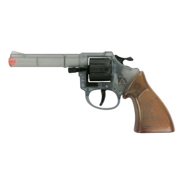 Western Pistole und Gewehr mit Munition