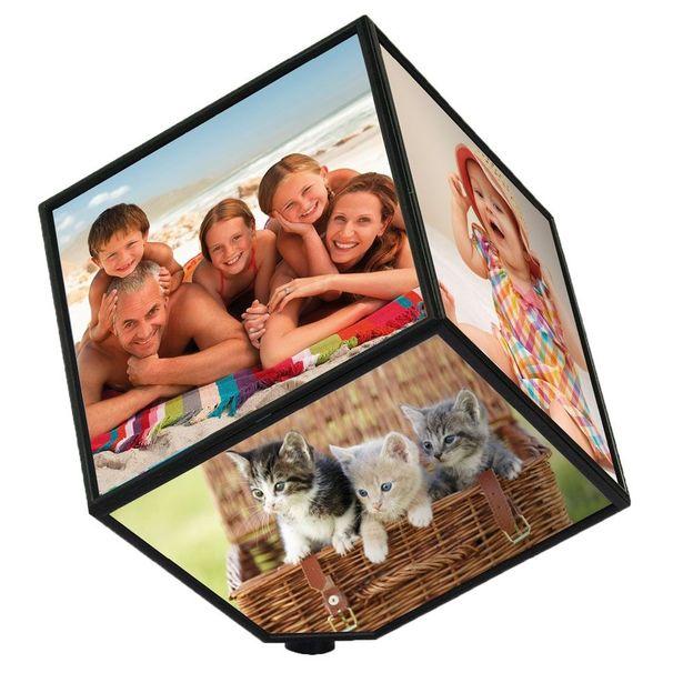 Cube photo tournant grand modèle