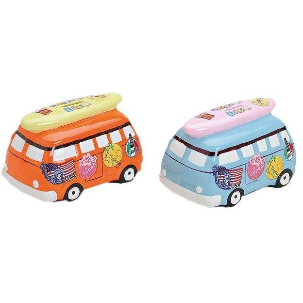 Tirelire Minibus en céramique