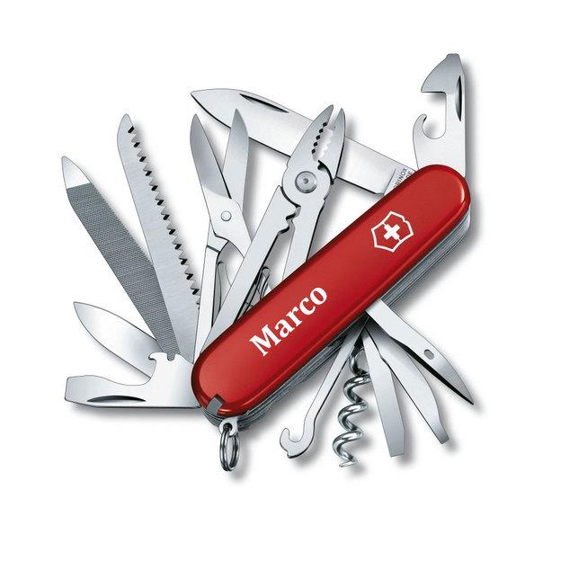 Personalisierbares Victorinox Taschenmesser Handyman