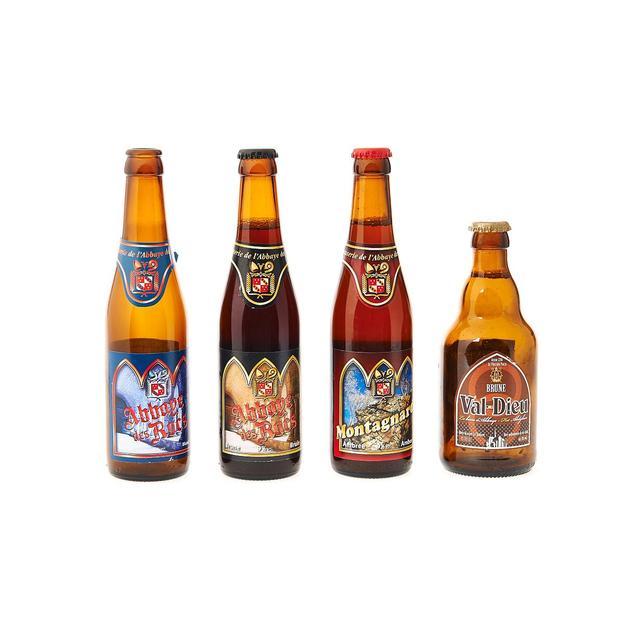 Bières belges en demi-mètre personnalisable