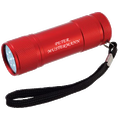 Torche LED personnalisable rouge