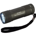 Torche LED personnalisable antracite