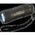 Personalisierbare LED Taschenlampe anthrazit