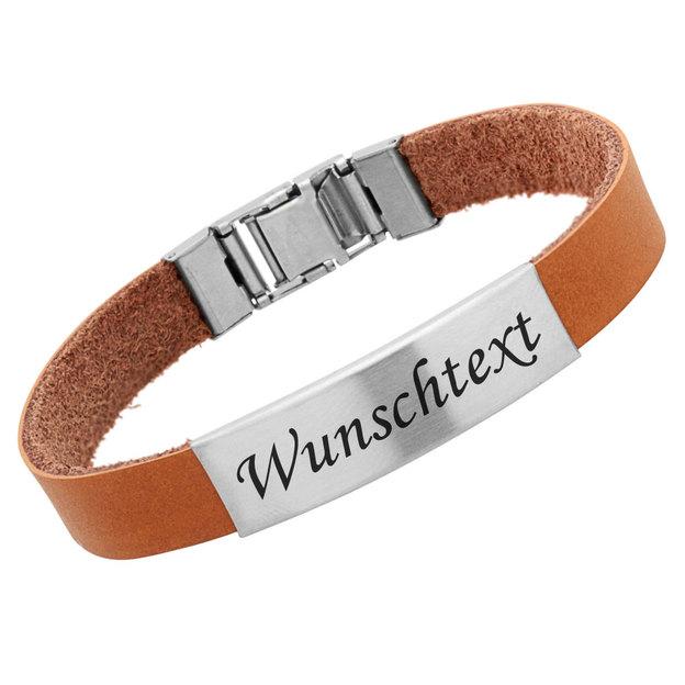 Bracelet caoutchouc personnalisé 1cm beige