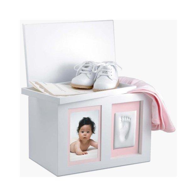 Personalisierbare Memorybox Babyprints