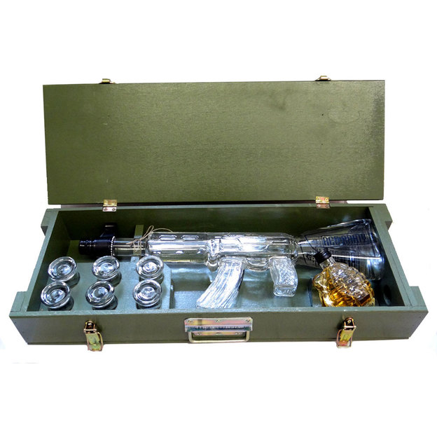 Vodka Red Army Kalashnikov personnalisable
