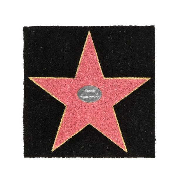 Paillasson personnalisé Walk of Fame