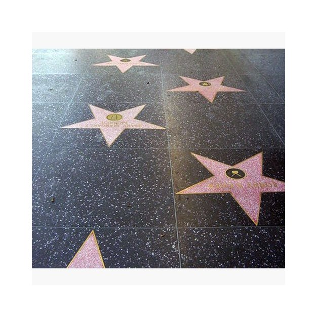Personalisierbare Fussmatte Walk of Fame