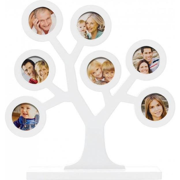Personalisierbarer Familien Fotobaum