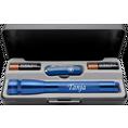 Coffret torche Led Mini Maglite et couteau Victorinox personnalisables bleu