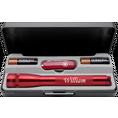 Personalisierbares LED Mini Maglite Set mit Victorinox Classic Messer rot