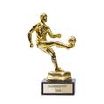 Personalisierbare Siegerstatue Fussball