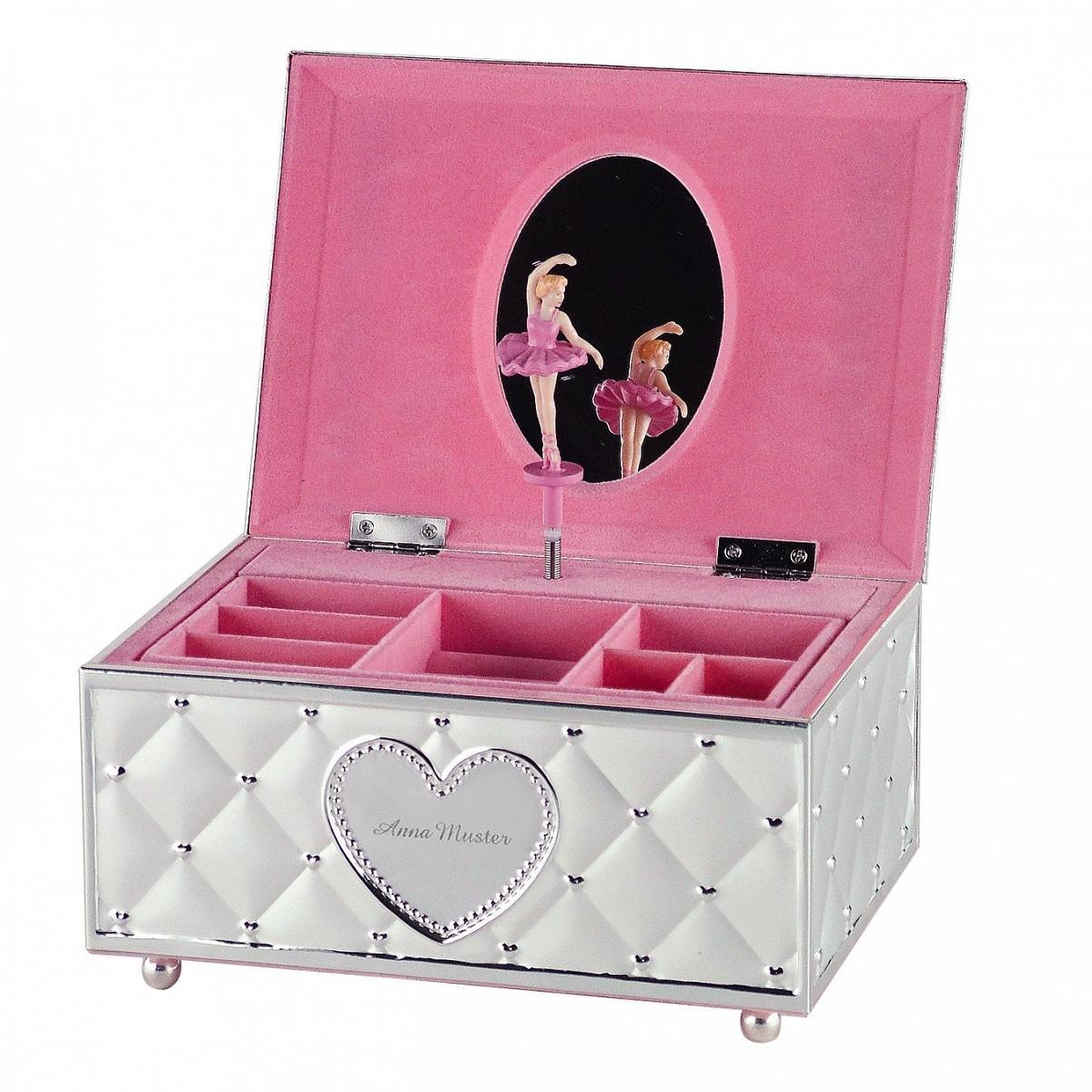 coffret bijoux ballerine personnalisable. Black Bedroom Furniture Sets. Home Design Ideas