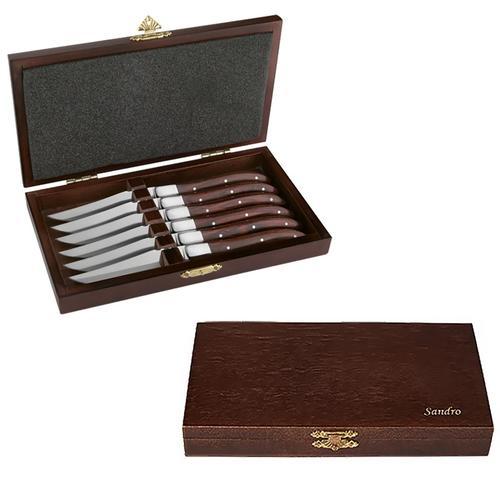 Image of Personalisierbares Steakmesser-Set von Amefa