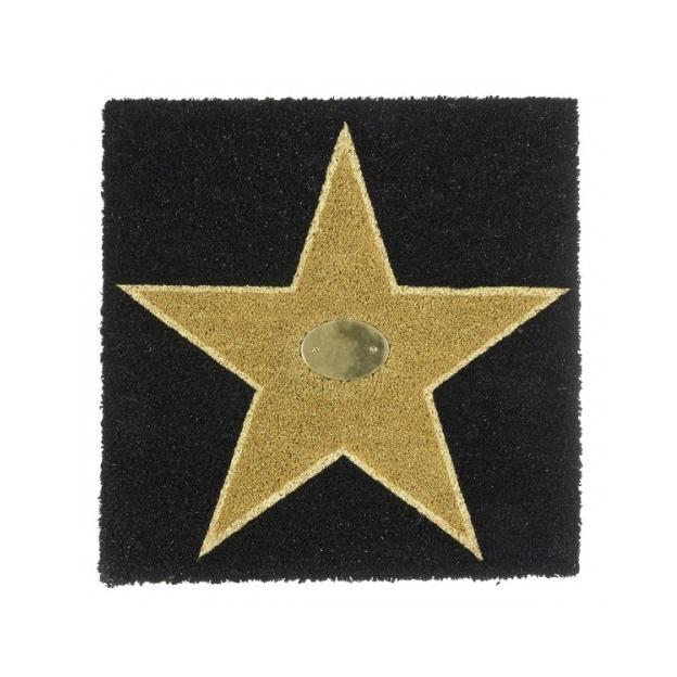 Personalisierbare Türmatte Walk of Fame gold