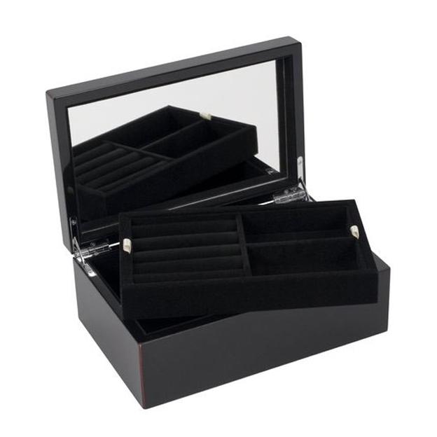 Boîte à bijoux personnalisée Tang Noire