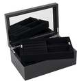 Personalisierbare Schmuckbox Tang schwarz