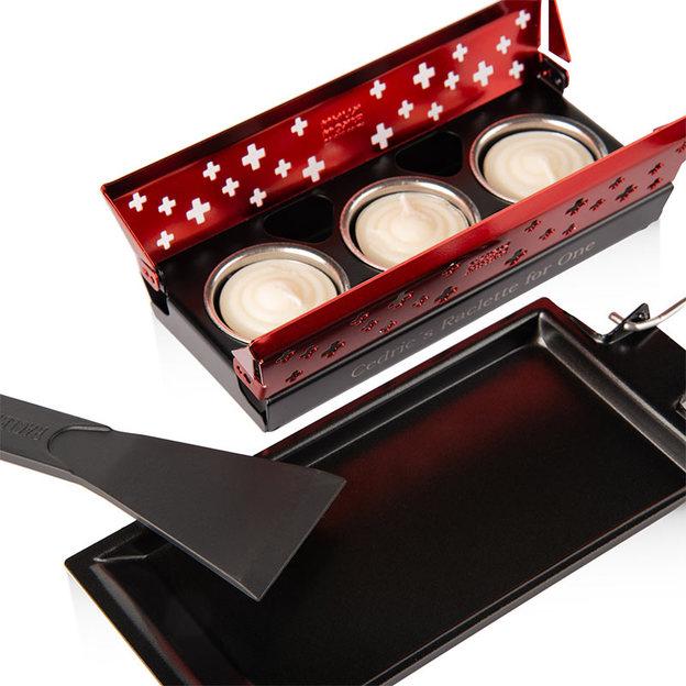 Personalisierbares Raclette Set Mini von Kuhn Rikon