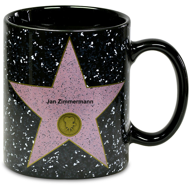 Tasse personnalisable Walk of Fame