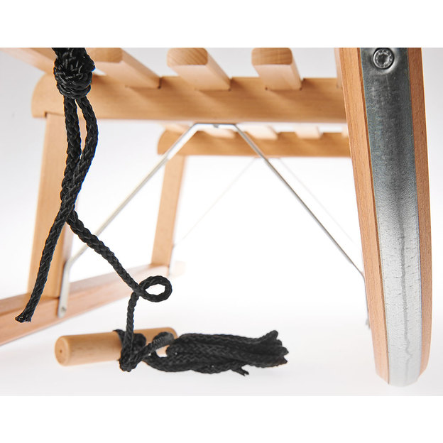 Personalisierbarer Holzschlitten im Davoser Design