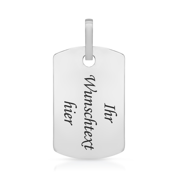 Pendentif Dog Tag personnalisable