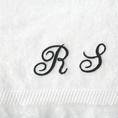 Personalisierbares Badetuch mit Initialen