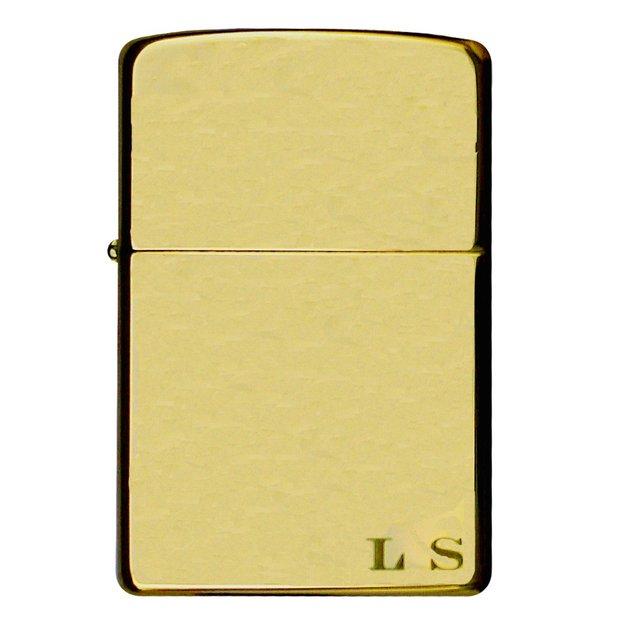 Zippo personnalisable Regular Brass