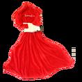 Hugz Deluxe Decke Blazing red